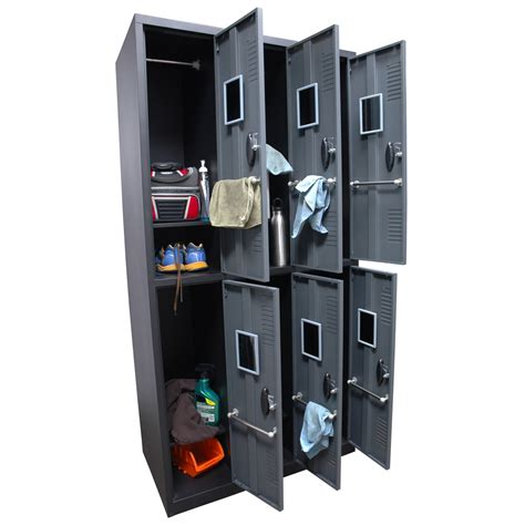 Homak Gun Cabinets Canada by Homak 6 Door Steel Gun Cabinet Locker Gun Safes