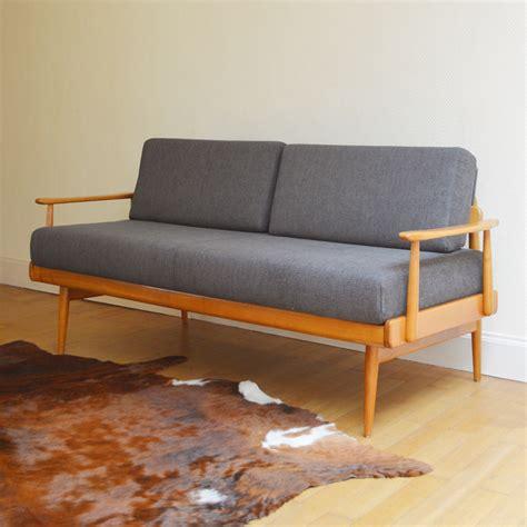 canapé scandinave vintage sofa daybed scandinave vintage