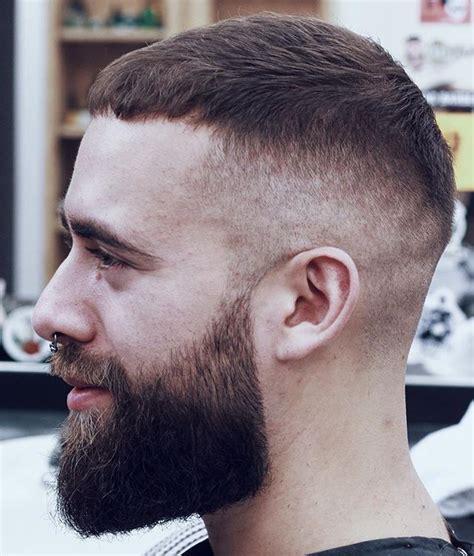 high fade with caesar cut top s hair