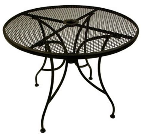 round metal outdoor table outdoor tables from richardson seating corp