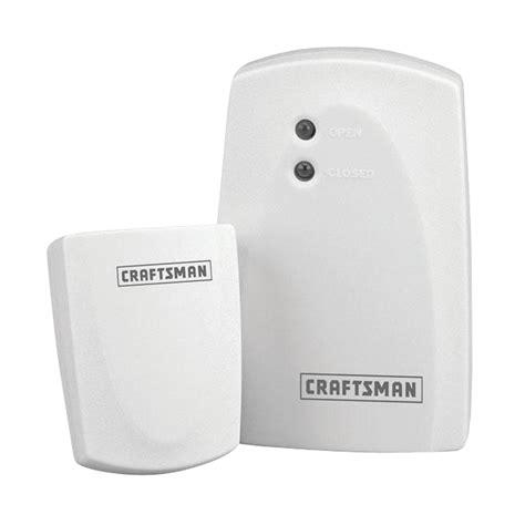 craftsman wireless garage door monitor