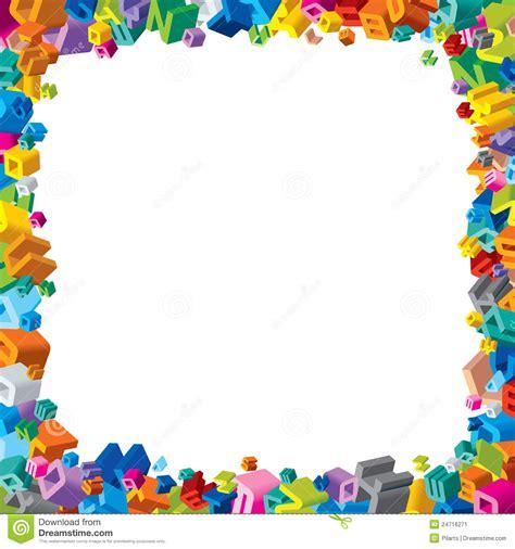diseno del marco de la fuente imagen de archivo imagen