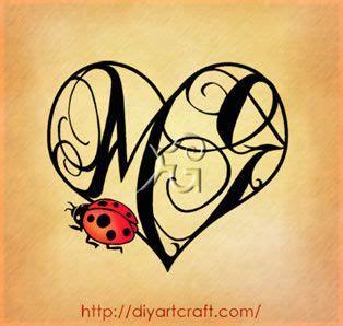 tatuaggi lettere m g con maiuscole mg 6 illustrazioni