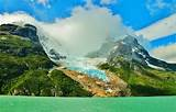 lake, Glaciers, Mountain, Chile, Forest, Cliff, Snowy Peak ...