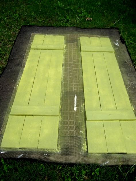 diy shutters  fence parts southern hospitality