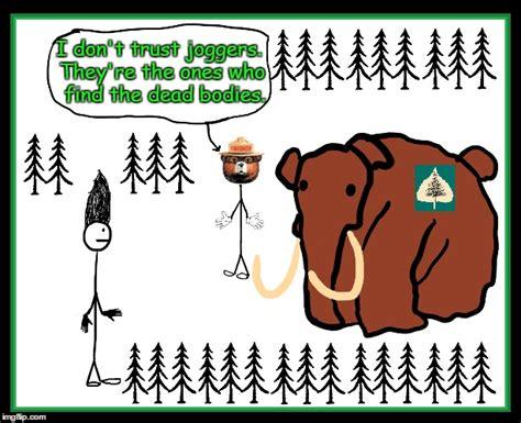 Smokey The Bear Meme Generator - smokey doesn t trust joggers imgflip