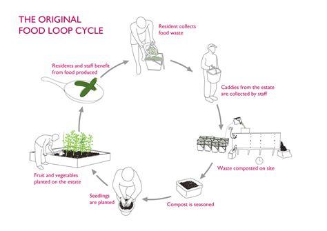 Food Loop Diagram by Socially Responsive Design Article By Jones