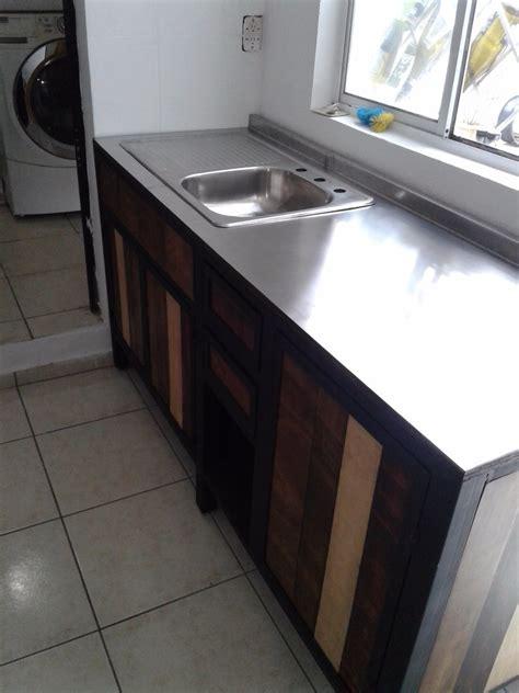 muebles cocina  la medida madera metal inoxidable