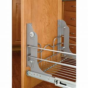 Shop Rev-A-Shelf Pull Out Trash Can Mounting Kit at Lowes com