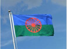 Sinti und Roma Fahne kaufen 90 x 150 cm FlaggenPlatzde