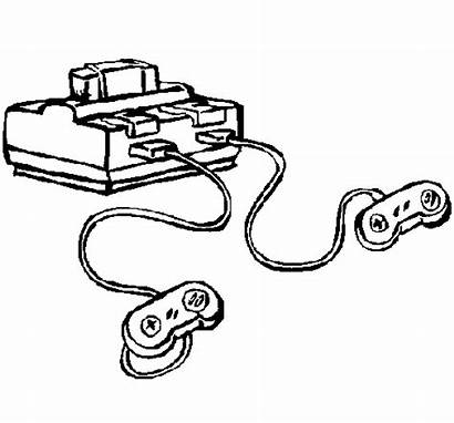 Console Coloring Games Coloringcrew