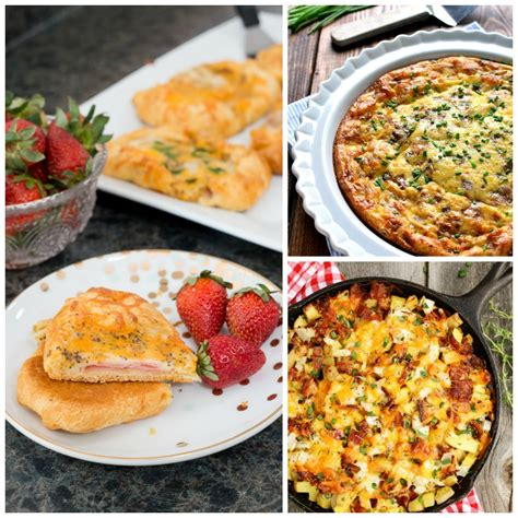 the best brunch recipes 30 brunch recipes including ham cheese crescent puffs lasso the moon