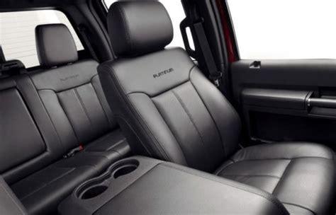seats     ford super duty platinum
