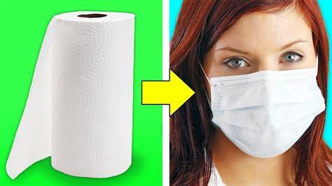 smart emergency life hacks     face mask