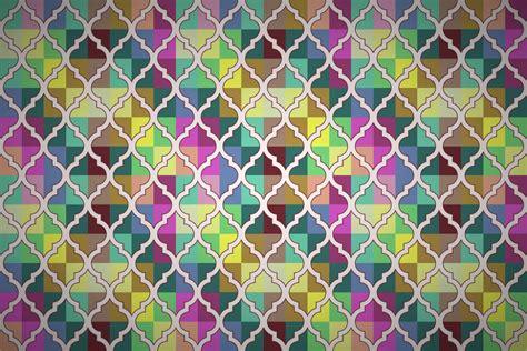 quatrefoil quilt wallpaper patterns