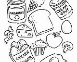 Coloring Pages Sheets Beef Chicken Meat Canned Printable Foods Getcolorings Roast Natural Getdrawings sketch template