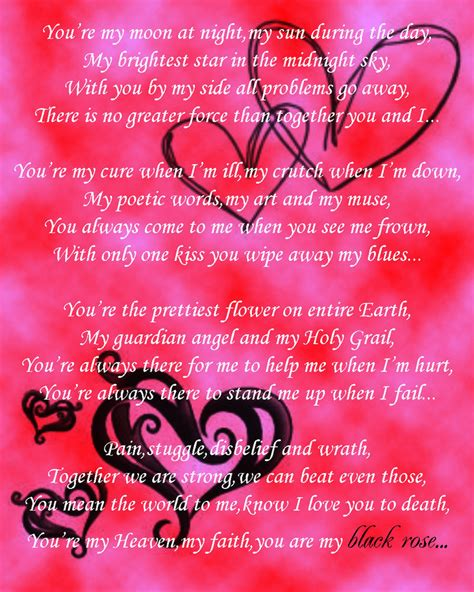 Anniversary Love Poems for Him