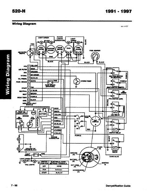 toro wheelhorse demystification electical wiring diagrams   wheelhorse tractor