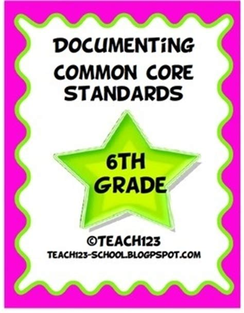6th Grade Common Core Teaching  Education  Pinterest  100 Free, Art And Samples