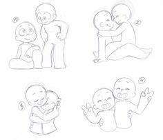 Ych Couple Poses Drawing Pictures Easy Drawings For Beginners Easy Painting How To Draw People Hugging From Behind The Back Draw