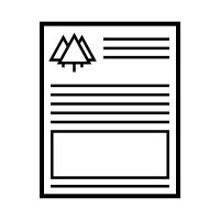 letterhead icons   vector icons noun project
