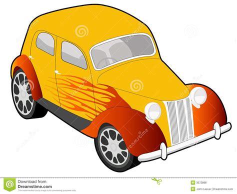 custom car illustration royalty  stock  image