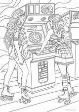 Coloring Favoreads Kleurplaten Adult Printable Adults Sheets Skaters Bff Barbie Malvorlagen Kolorowanki Movie Ariana Grande Theater Animal Books Zeichnungen Ausmalbilder sketch template
