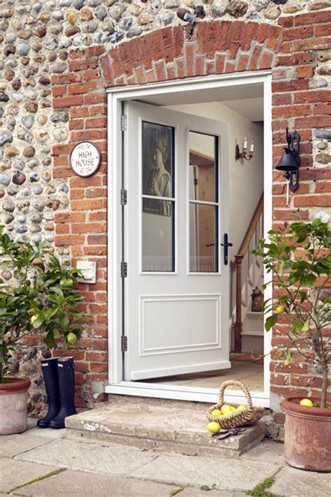 Wood Back Door With Window by Front Doors Back Doors External Exterior Doors