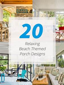 20, Relaxing, Beach, Themed, Porch, Designs