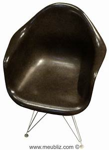 Fauteuil Charles Eames Original : fauteuil coquille eiffel tower dar dining armchair rod par charles eames et ray eames ~ Nature-et-papiers.com Idées de Décoration
