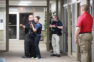 Nctc Police Train With New Tactical Training Equipment