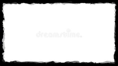 unique black  white border frame  stock photo image