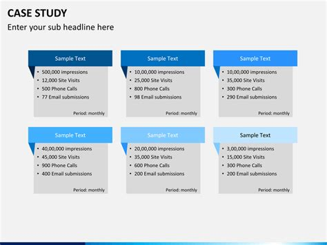 case study powerpoint template sketchbubble