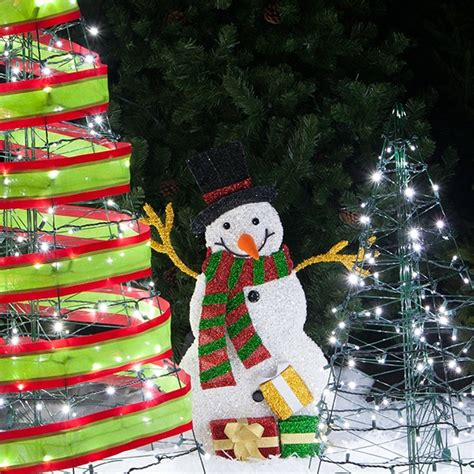 top christmas tree outside decoration outdoor trees