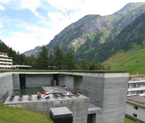 house plans for free vals thermal baths by swiss architect zumthor en