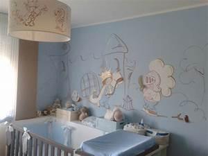 Deco chambre fille peinture for Deco peinture chambre enfant