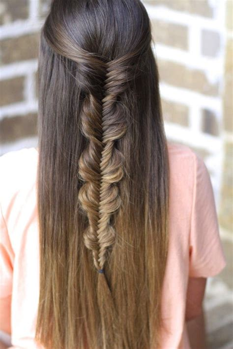 bubble fishtail braid cute girls hairstyles cute girls