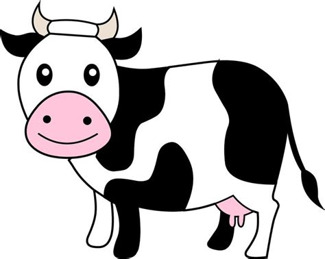 26 Best Cartoon Cows Images On Pinterest