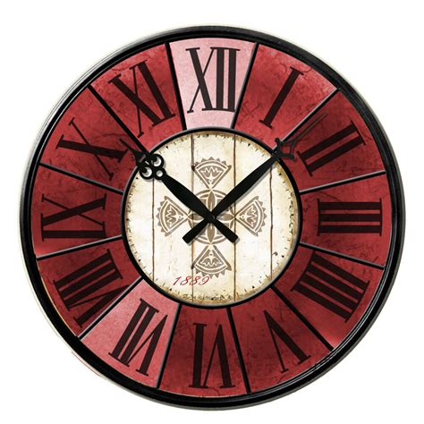 home decor clock retro antique wooden vintage style wall clocks shabby chic