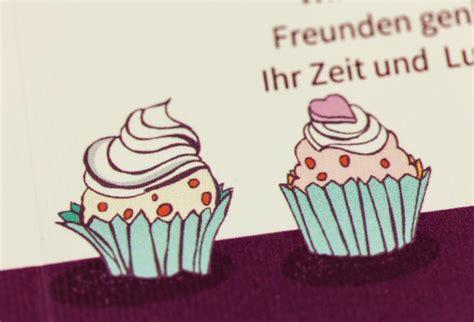 einladungskarte geburtstag cupcakes feinekartencom