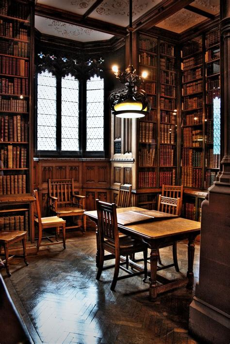 Reading Room, John Rylands Library  Gothic, Dark And