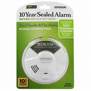 Usi Mib3050s Bedroom 10 Year Battery Smoke  U0026 Fire Smart