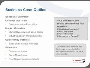 business case template ppt besikeighty3co With simple business case template powerpoint