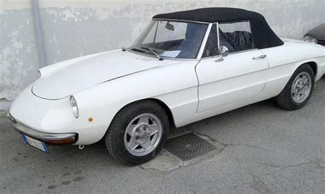 alfa romeo spider  junior  catawiki