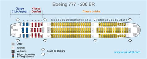 siege boeing 777 le voyage