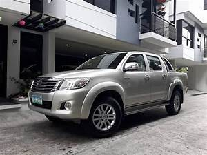 For Sale 2012 Toyota Hilux G 2wd Manual Transmission For