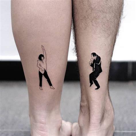 meaningful couple tattoo ideas   hopeless romantics