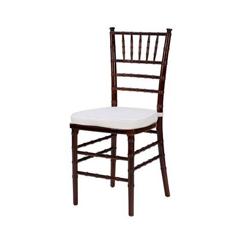 mahogany chiavari chair a chair affair inc