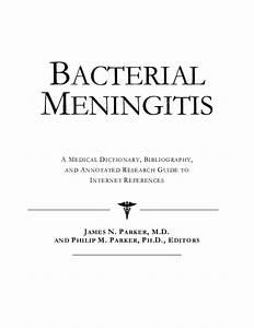 Pdf  Bacterial Meningitis A Medical Dictionary