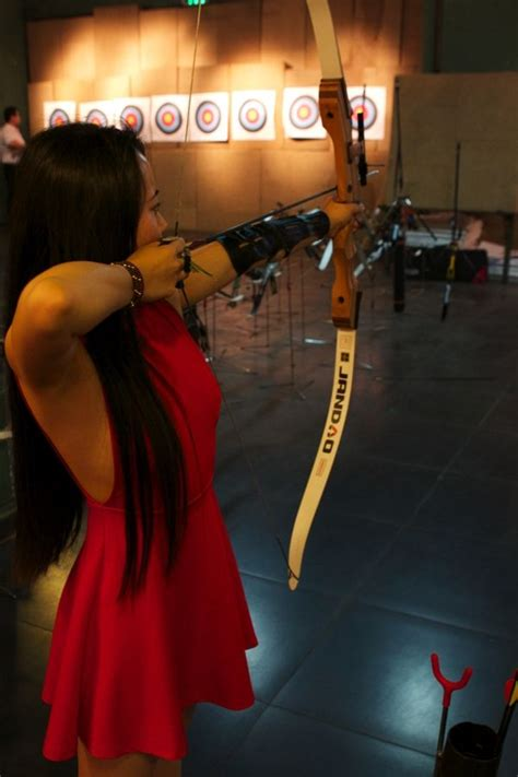 bows  arrows  beijing  visit  jian archery club